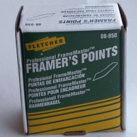 Fletcher Framers Points 16mm 3000 per box FTC08-950