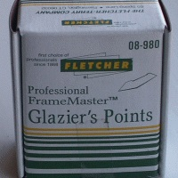 Fletcher Glazier Points 8mm 5000 per box FTC08-980
