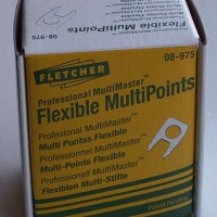 Fletcher Flexible Multipoints 3000 per box FTC08-975