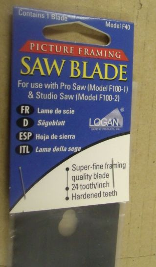 Logan F40 Spare blade for F100-2 pro saw