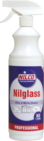 Nilco Nilglass Glass Cleaner Spray or Refill bottles