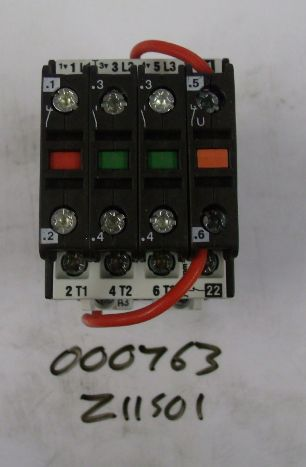 Z11501 Sub assy contactor 24DC
